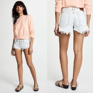 One Teaspoon Bleached Classic Bonitas Shorts